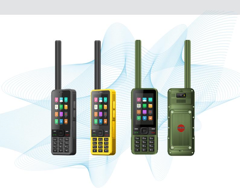 智能全网通天通卫星对讲电话 HTL2500